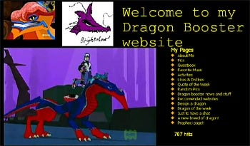 Brightclaws Dragon Booster Fan Site