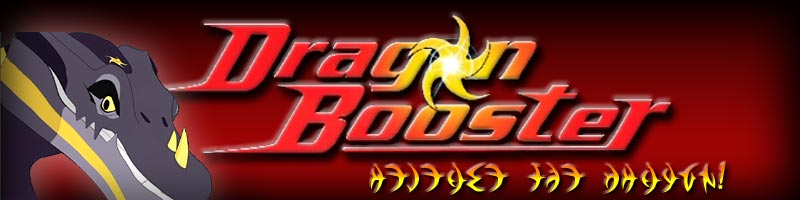 Dragon Booster Fan Site  Logo